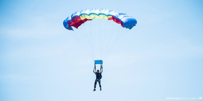 Skydiving in the Philippines