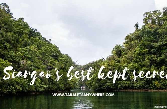 Sugba Lagoon and hidden beaches in del Carmen, Siargao