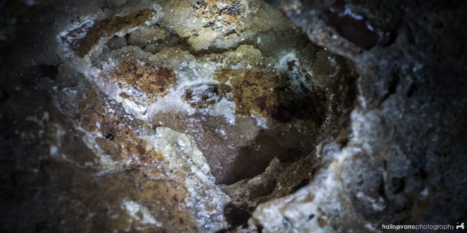 Crystal formation in Bakwitan Cave