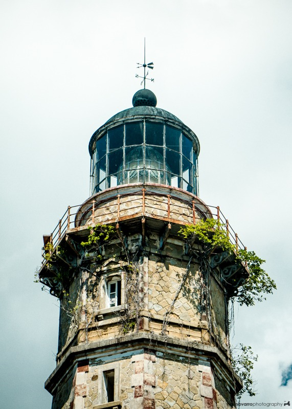 Melville Lighthouse in Balabac Island