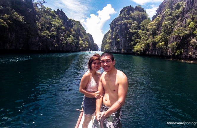 El Nido couple shot