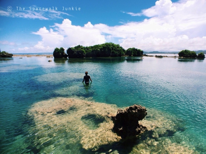 Natural pool in Ge-Puroe, Eastern Samar
