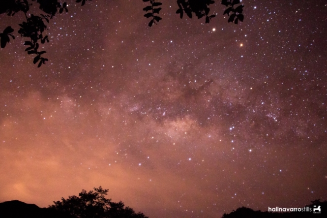 Milky Way in Lake Holon