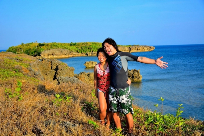 Couple shot in Cabacungan Cave