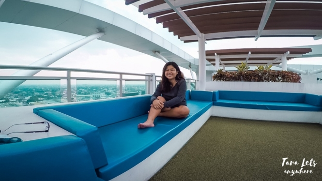 Rooftop in Azure Urban Resort Residences