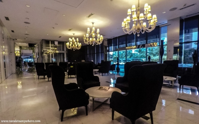 Lounge area in Azure Urban Resort Residences