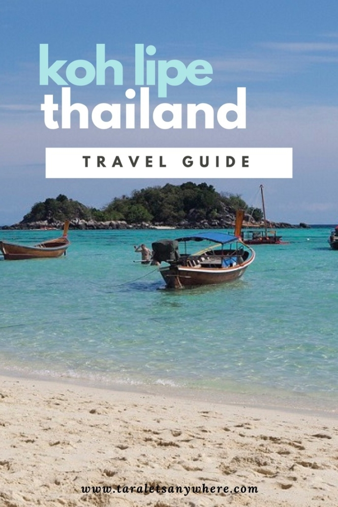 Travel guide to Koh Lipe || best beaches in Southeast Asia || off-the-beaten path in Thailand