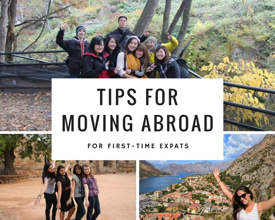 Tips for moving abroad for the first time