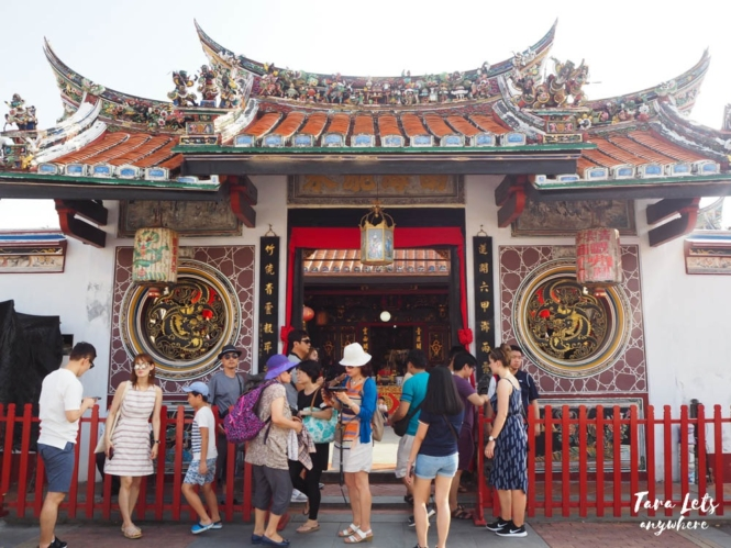 Cheng Hong Teng Temple in Malacca