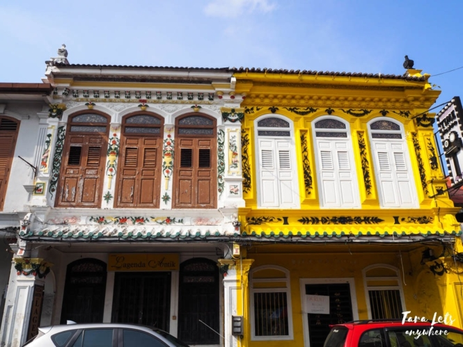 Old houses in Jonker Street, Malacca