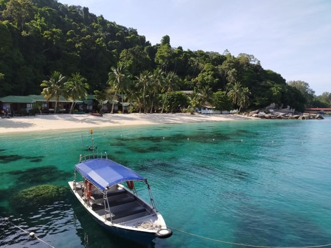 Coral Bay in Perhentian Islands