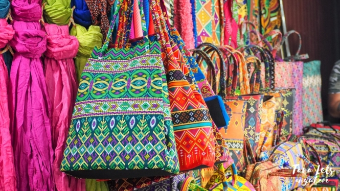 Shopping in Carnelan Barter Trade Center, Zamboanga City