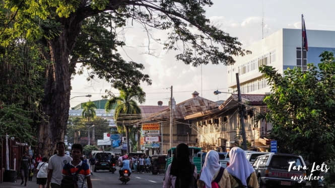 Street of Zamboanga City