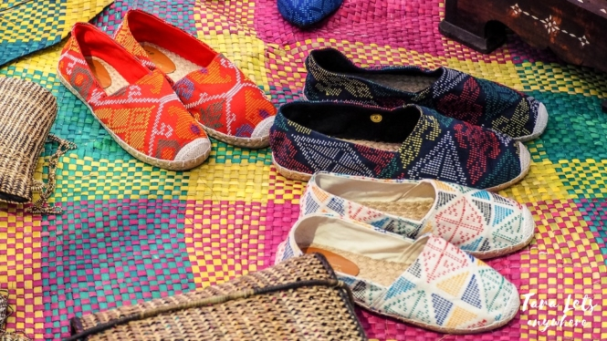 ZamPex trade fair - woven shoes
