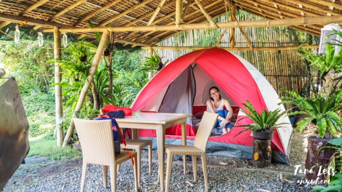 Glamping tent in San Rafael River Adventure