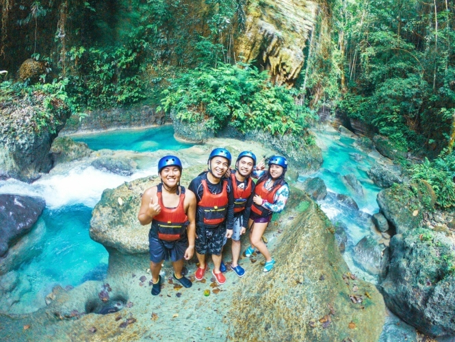 Adventures in the Philippines - canyoneering in Cebu