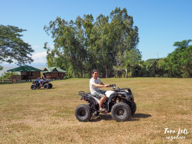 ATV ride in Lily Vacation Farm House, Rizal