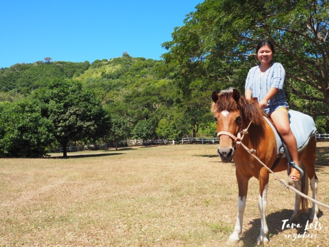 Horseback riding in Lily Vacation Farm House, Rizal
