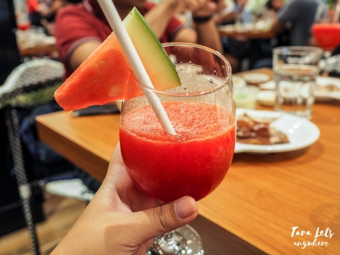 Rico's Lechon menu - Bloody Mary watermelon