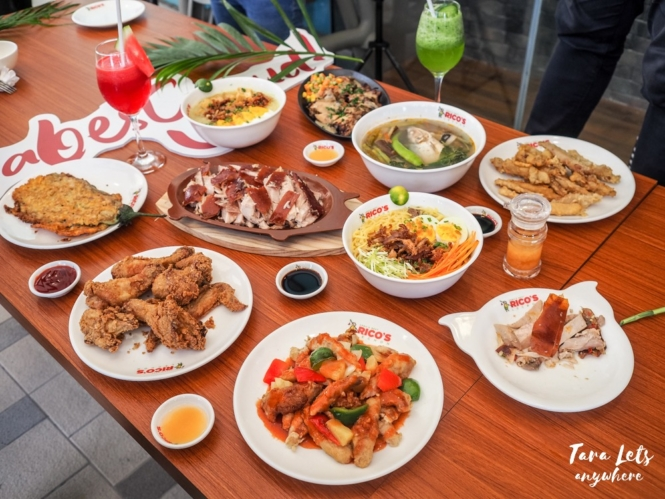 Rico's Lechon new dishes