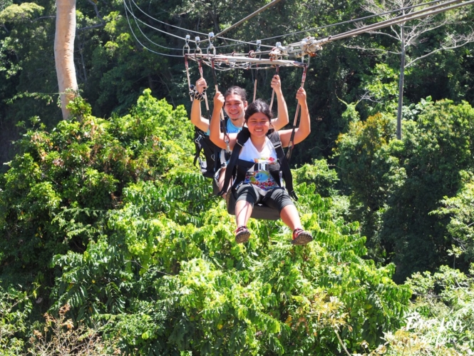 Sinagtala Adventure Park - cable ride