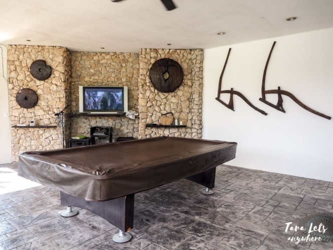 Casa Belinda game room