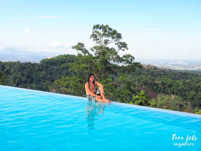 Infinity pool in Sinagtala Resort, Orani, Bataan
