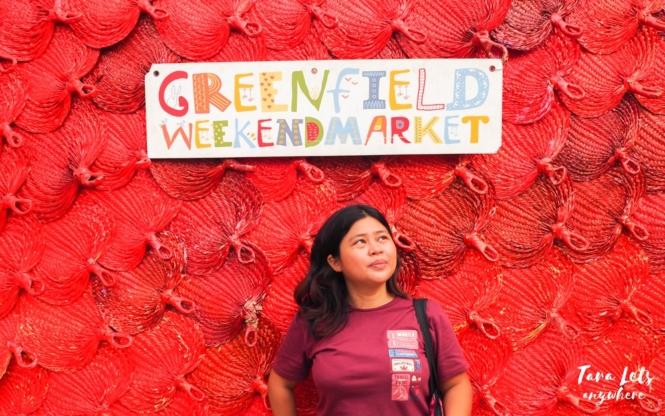 Kat in Greenfield Weekend Market, Mandaluyong