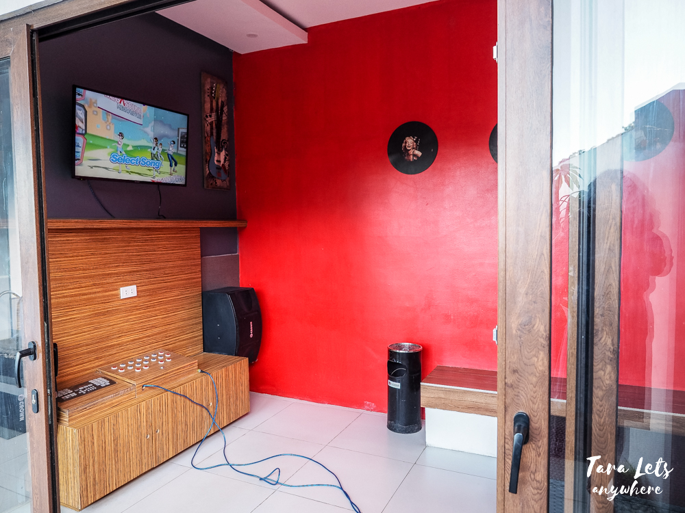 KTV room at The Cliffhouse Laguna
