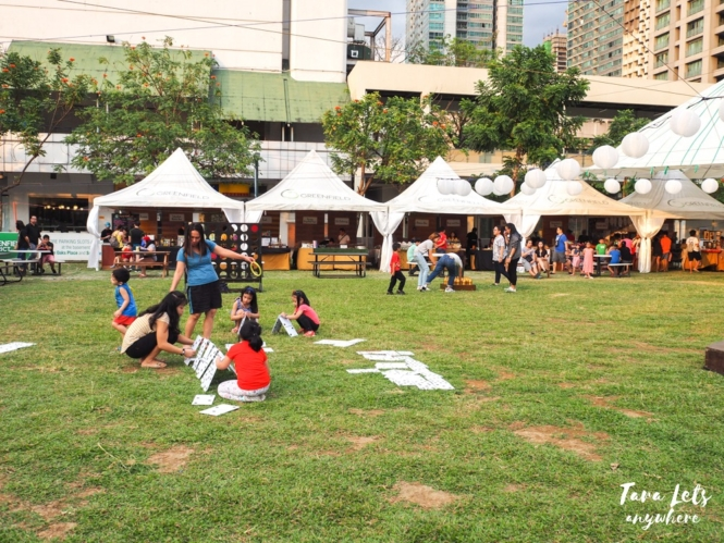 Greenfield Weekend Market in Greenfield District, Mandaluyong