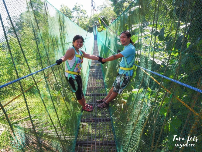 Sinagtala Adventure Park - sky bridge