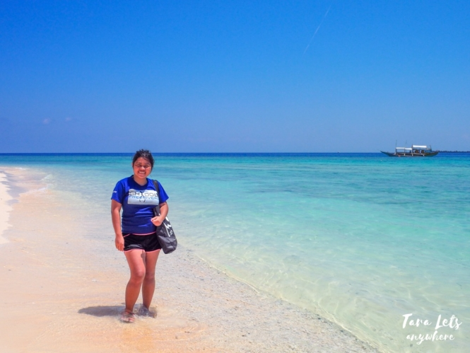 Kat in Apo Island, Apo Reef Natural Park
