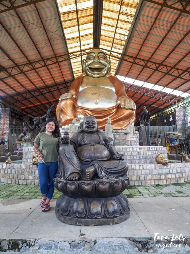 Yoki's Farm laughing buddha