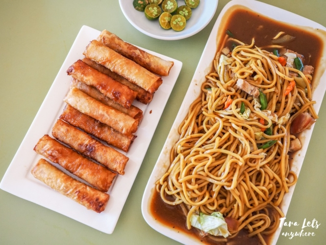 Luisa and Daughter Restaurant - chami and turon