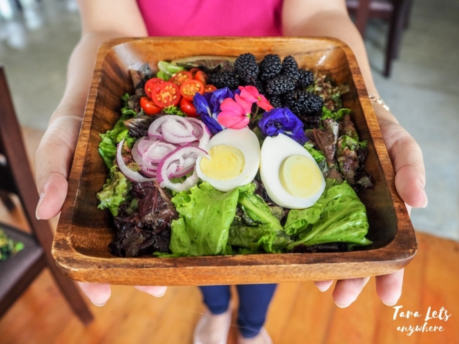 Yoki's Farm signature salad