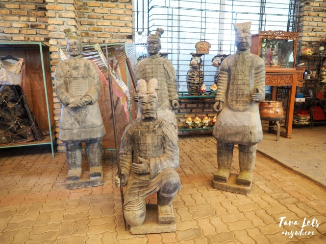 Yoki's Farm museum - terracotta warriors