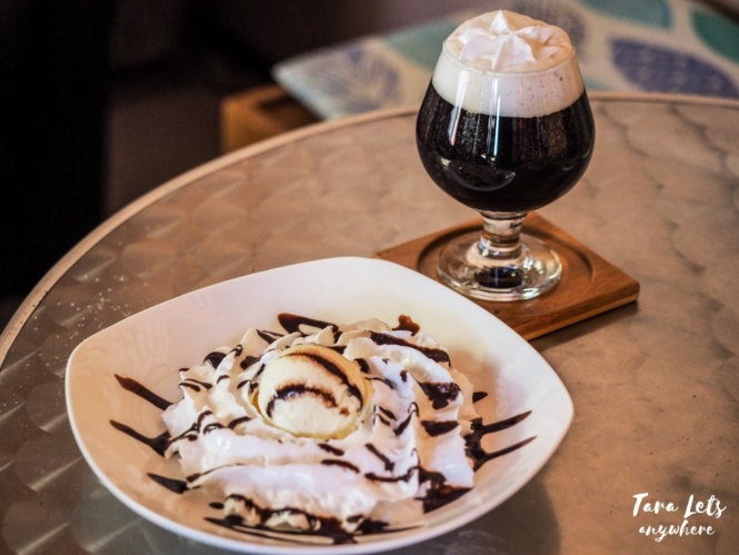 Amore Coffee Shop - irish coffee and dessert