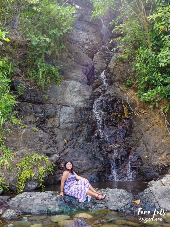 Kat at Sumalag Falls in Maconacon, Isabela