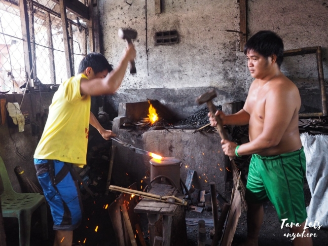 Tabak making in Tabaco City