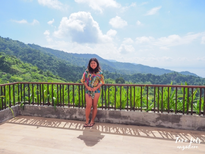 Kat in rooftop at Narra Hill