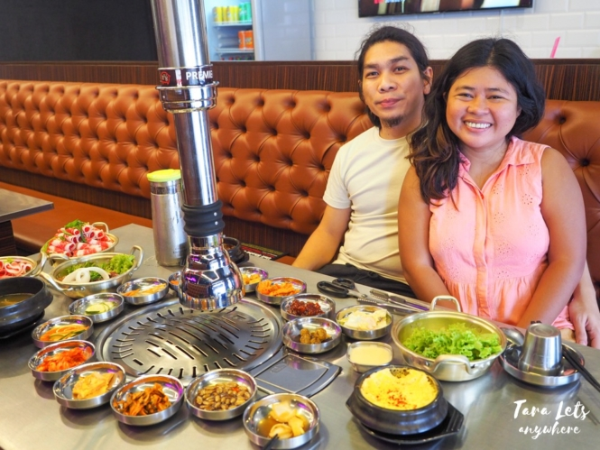 Couple shot at The Premier Samgyupsal