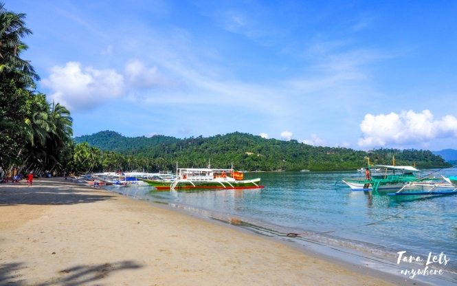 Port Barton Beach, Palawan