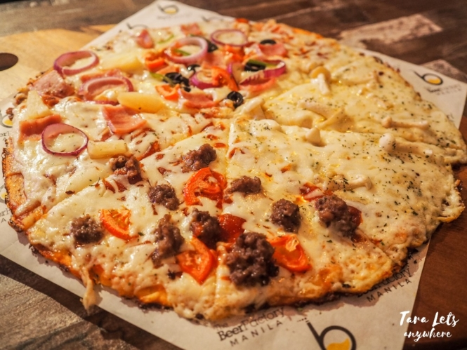The Beer Factory - TBF fourplay pizza