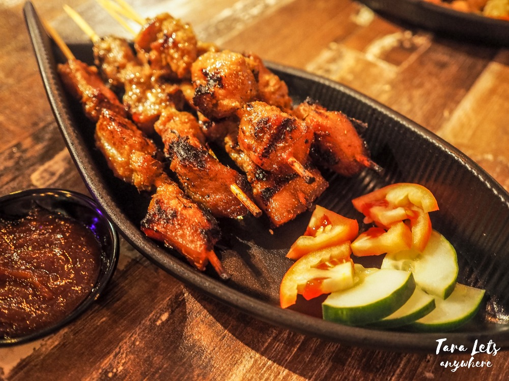 The Beer Factory - pork satay