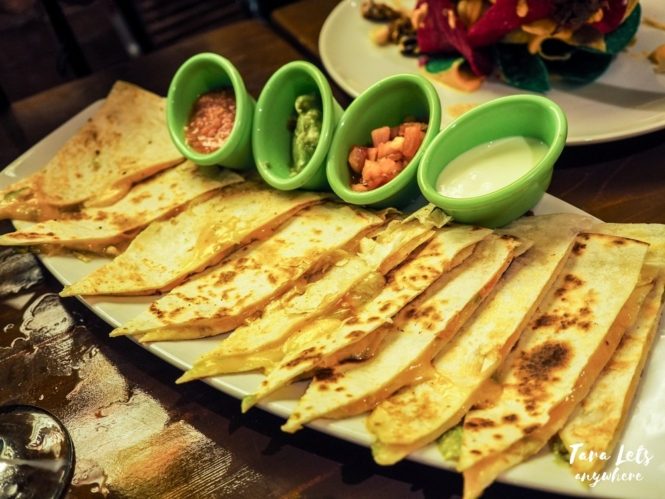 Fiesta Alamexo - cheese quesadilla