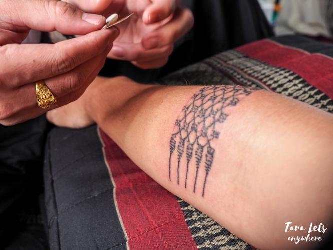 Hali's Sak Yant tattoo