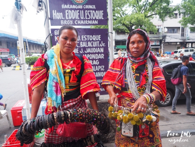 Locals selling souvenirs in CDO