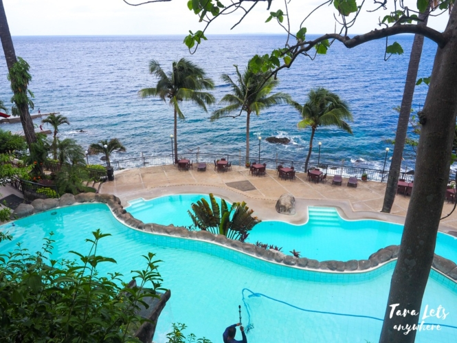 Swimming pools in Eagle Point Resort, Batangas