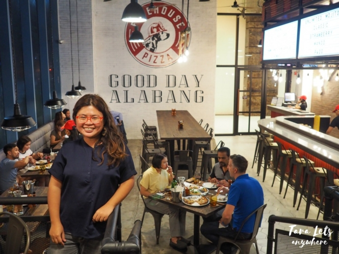 Firehouse Pizza in Filinvest, Alabang