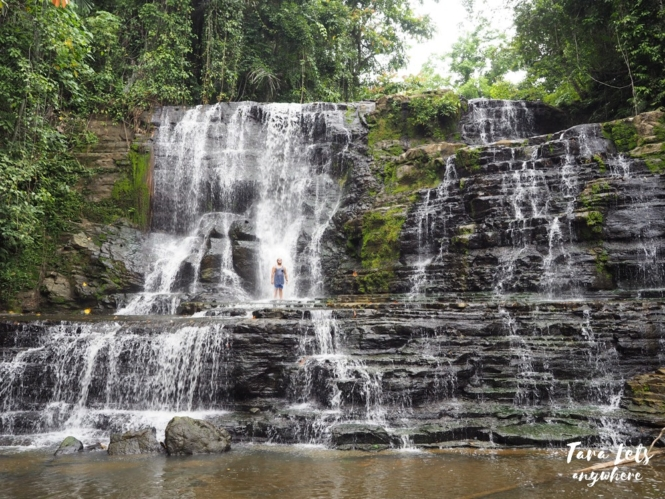 Merloquet Falls in Zamboanga City
